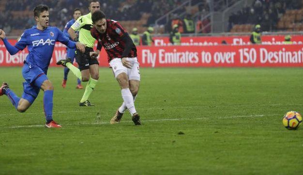 Milan-Bologna 2-1, Bonaventura (Ansa)