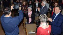 APPLAUDITA Emilia Gismondi, docente a Urbino ora 98enne