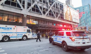 Attentato a New York (Afp)