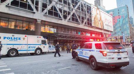 Attentato a New York (Afp)