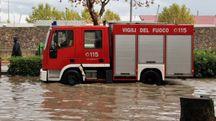 Vigili del fuoco in azione (archivio)