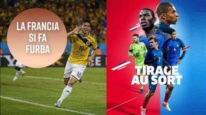 Perché la Francia vuole giocare contro la Colombia?
