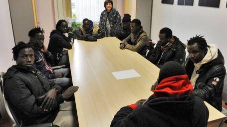 L'incontro in Comune (foto Calavita)