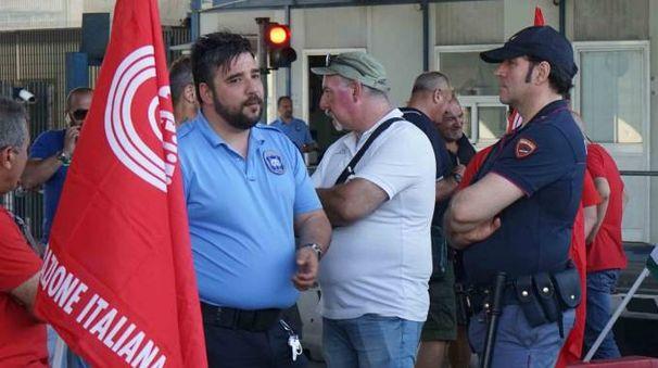 COMMERCIO Una protesta al varco degli Stagnoni a La Spezia