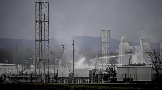 L'impianto di Baumgarten (Ansa)