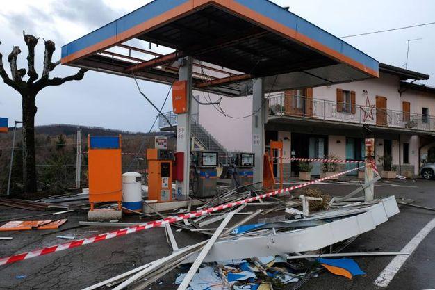 Distributore di benzina Ip di Montese (Foto Walter Bellisi)