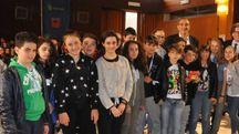 Studenti premiati durante l'ultima edizione del «Campionato di giornalismo» (foto di repertorio)