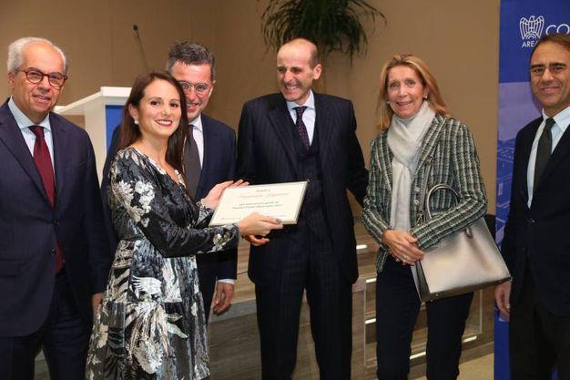 Riconoscimento alla Sangiorgi Legnami (FotoSchicchi)
