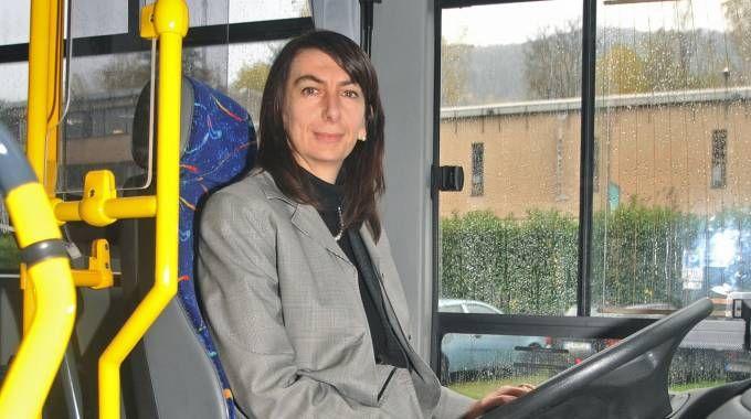 Annarita Polacchini, amministratore delegato dell'azienda pubblica comasca che gestisce il trasporto locale