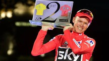 Chris Froome alla Vuelta 2017 (Afp)