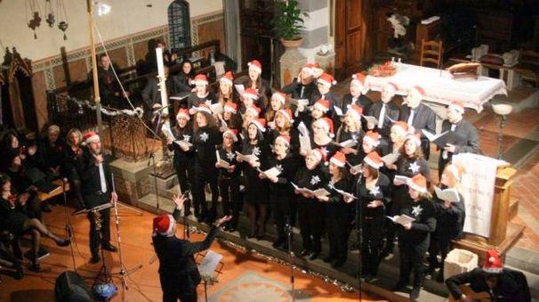 Il coro parrocchiale del Borghetto