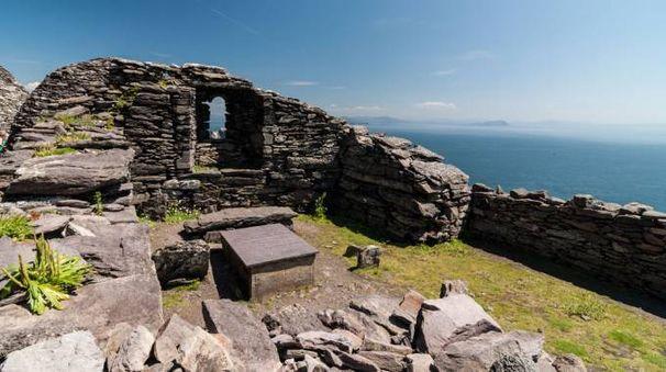 Una parte del monastero di Skellig Michael – Foto: upthebanner/iStock