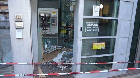 Il dispositivo bancomat che ha subito l'attacco