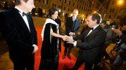 Virginia Raggi con il sovrintndente del Teatro dell'Opera Carlo Fuortes (Imagoeconomia)