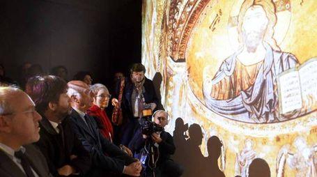 Il ministro Franceschini alla visita in anteprima del Meis a Ferrara (Foto Businesspress)