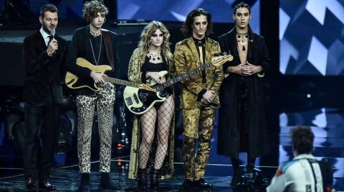 X Factor 2017, Alessandro Cattelan con i Maneskin