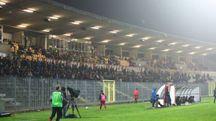 La tribuna dello stadio Benelli