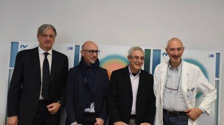 I vertici della Clinica Riabilitazione Toscana