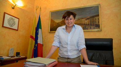 Il sindaco Sara Casanova