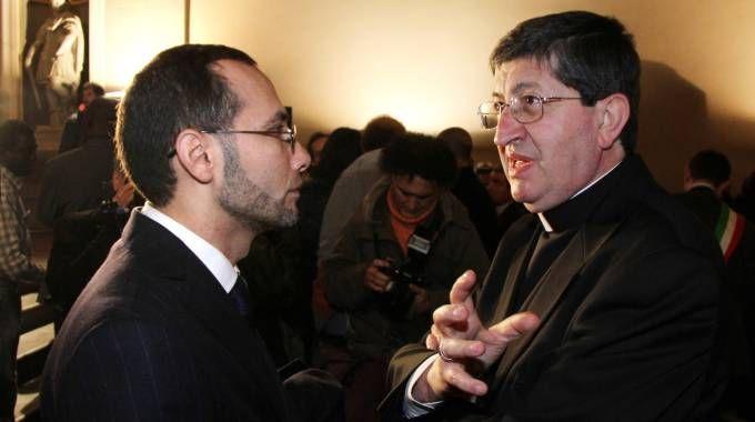 Il cardinale Betori e l'Imam di Firenze Izzedin Elzir
