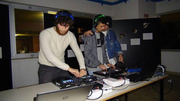 Al Marconi dj session di Silent disco music