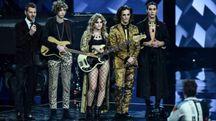 I Maneskin, finalisti a X Factor 2017 (LaPresse)