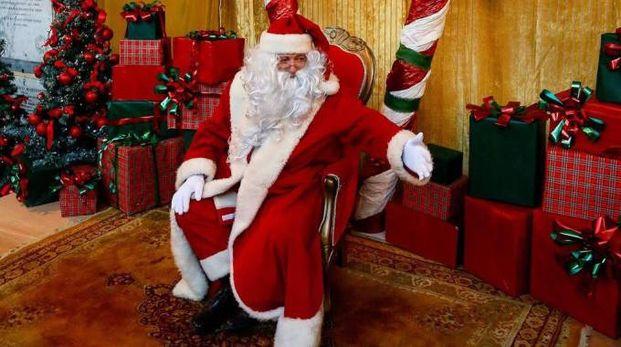 Babbo Natale è il protagonista in città