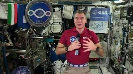 L'astronauta italiano Paolo Nespoli (foto Ansa)