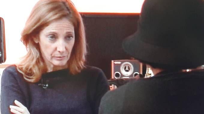 La donna di Tolentino intervistata dalla trasmissione «Chi l'ha visto?»