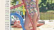 """AGOSTO: Veronica Grasso, 39 anni, barista di Vallefoglia (Pesaro Urbino), mamma di Evan e Valentina, di 12 e 10 anni. È la vincitrice della fascia """"Miss Mamma Italiana Eleganza 2017"""""""