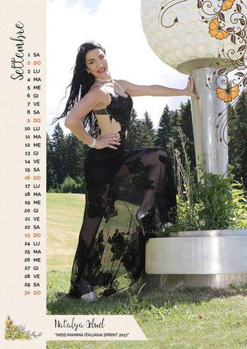 """SETTEMBRE: Natalya Odud, 45 anni, commerciante di Lugo (Ravenna), mamma di Liliana di 21 anni. È la vincitrice della fascia """"Miss Mamma Italiana Sprint 2017"""""""