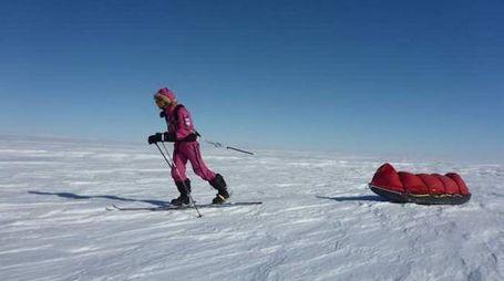 La 16enne australiana Jade Hameister verso il Polo Sud - foto Hameister Instagram