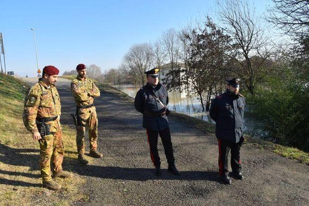Forze dell'ordine (Foto Artioli)