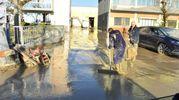 Acqua e fango (foto Artioli)