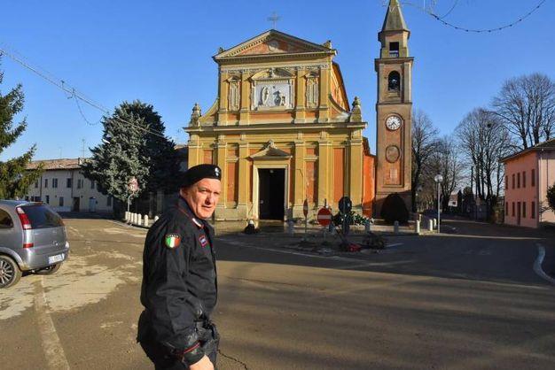 La chiesa (foto Artioli)
