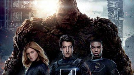 Un dettaglio del poster del film 'Fantastic Four' (2015) – Foto: 20th Century Fox