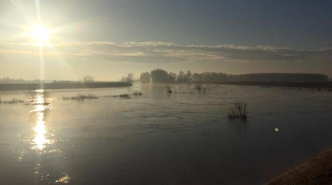 Il fiume Secchia (Saracino)