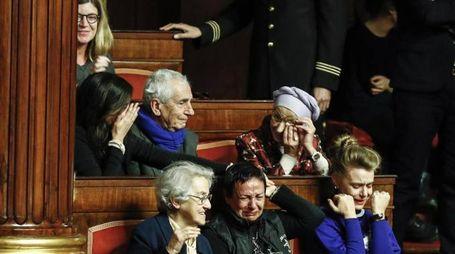 Biotestamento, Emma Bonino in lacrime (Ansa)
