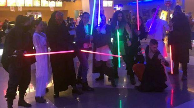 La proiezione di Star Wars al Cinedream di Faenza