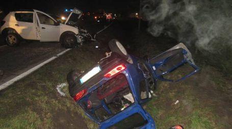 L'immagine dell'incidente
