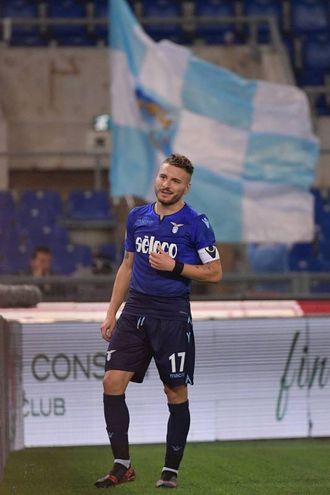 Immobile festeggia il gol del 4-1 (Lapresse)