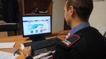 I carabinieri indagano su un caso di cyber bullismo (Foto d'archivio Frasca)