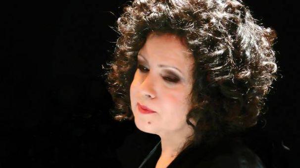 La cantante Antonella Ruggiero