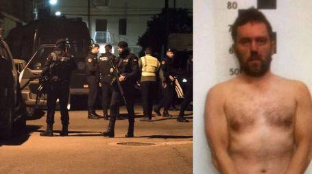 Igor il russo, il killer di Budrio, catturato in Spagna dalla Guardia Civil (Foto Ansa)