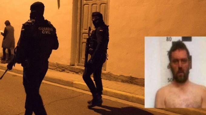 Igor il russo, il killer di Budrio, catturato dalla Guardia Civil in Spagna (Foto Ansa)