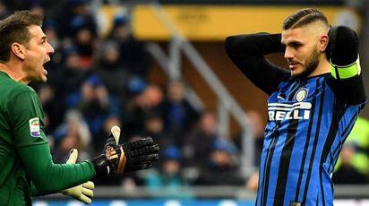 Inter-Udinese, Mauro Icardi (Afp)