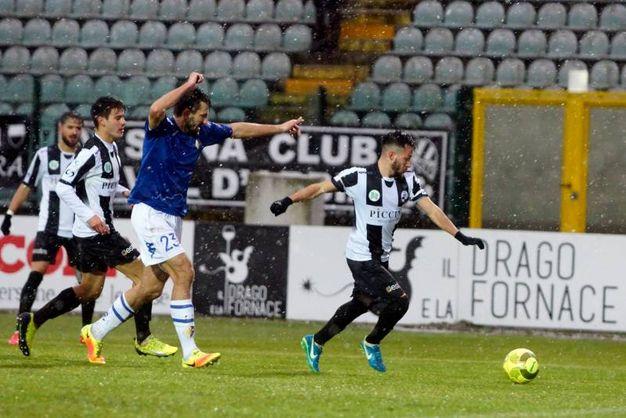 Robur Siena-Prato (LaPresse)