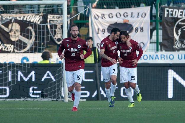 Pro Vercelli- Spezia (LaPresse)