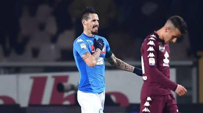 Hamsik come Maradona: 115 gol col Napoli (Afp)