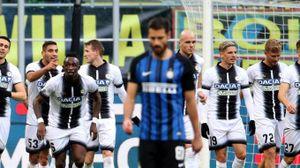 Inter Udinese 1-3 (Ansa)